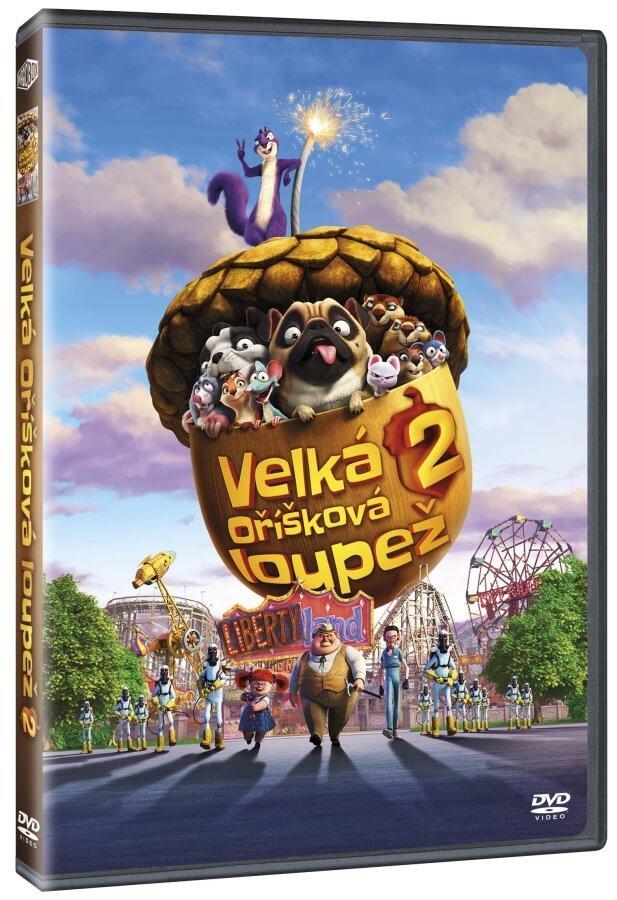 Velká oříšková loupež 2 (DVD)