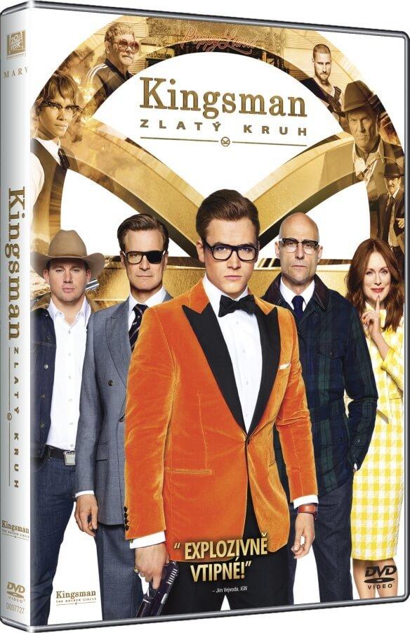 Kingsman 2: Zlatý kruh (DVD)