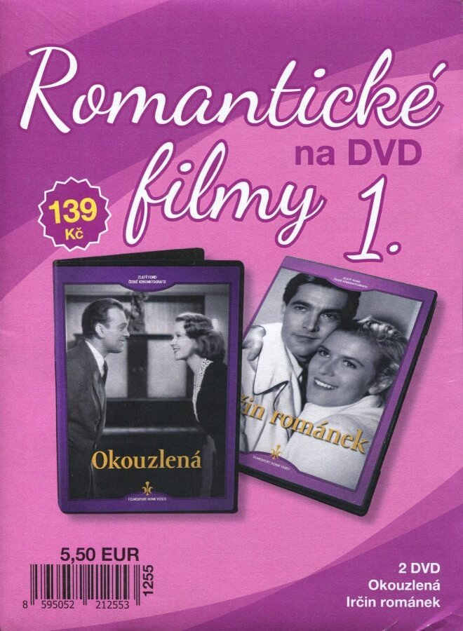 Romantické filmy na DVD 1 - kolekce (2 DVD) - digipack