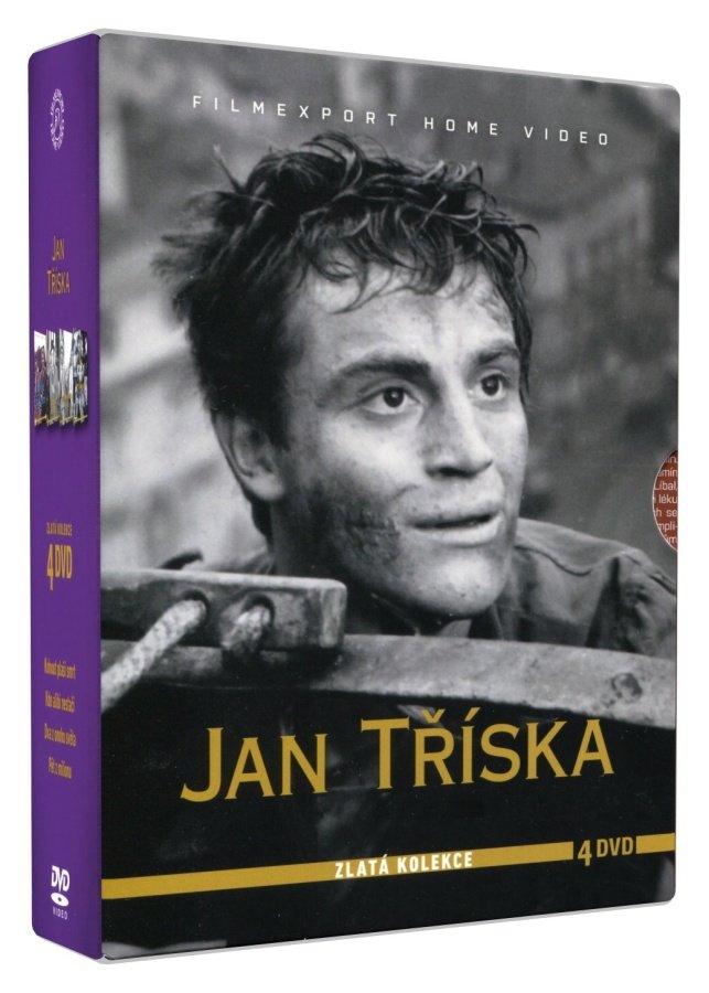 Jan Tříska - kolekce (4 DVD)