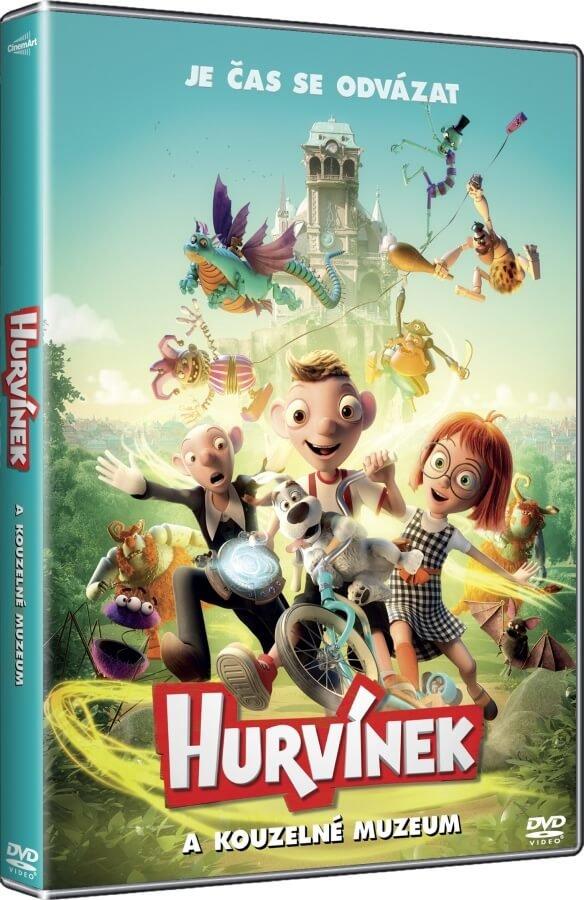Hurvínek a kouzelné muzeum (DVD)
