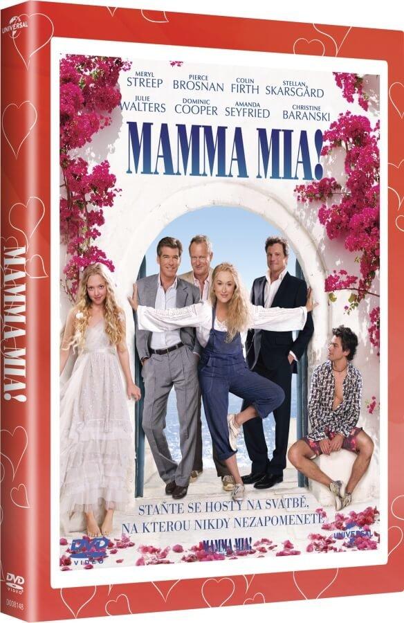 Mamma Mia! (DVD) - edice Valentýn