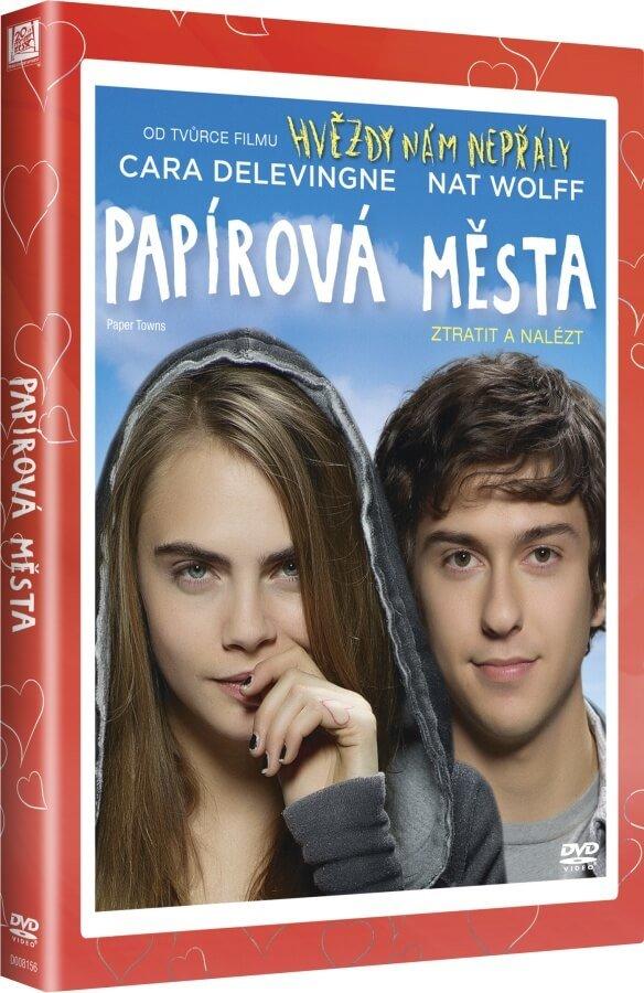 Papírová města (DVD) - edice Valentýn