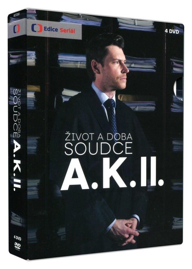 Život a doba soudce A. K. - 2. série (4 DVD) - Seriál