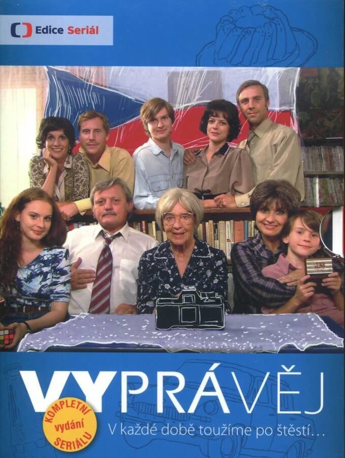 Vyprávěj - 1.-5. série (34 DVD) - kompletní vydání seriálu