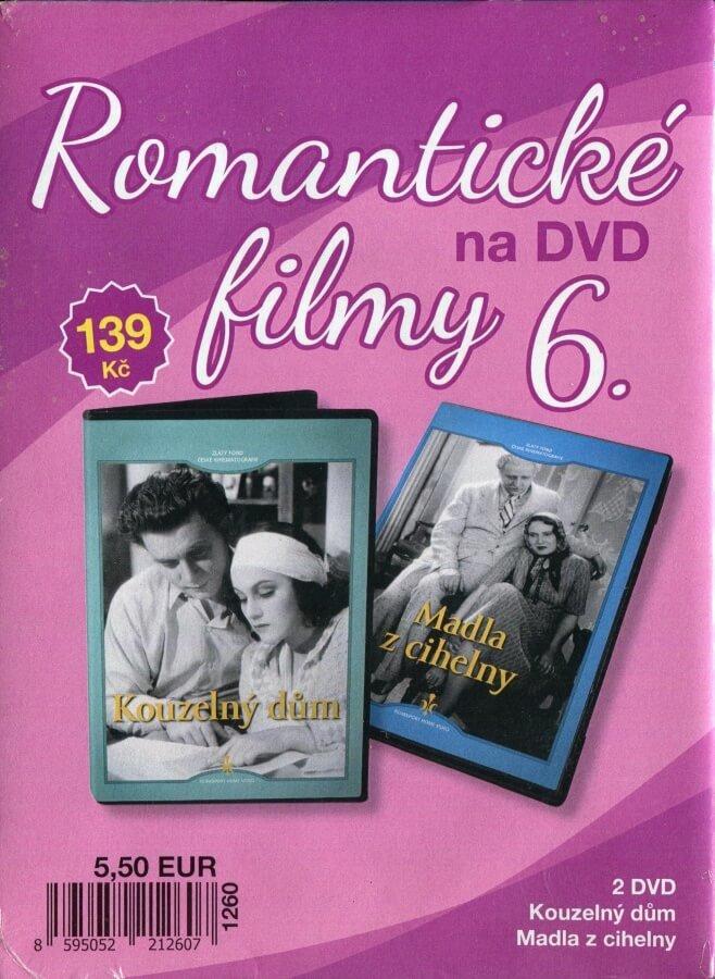 Romantické filmy na DVD 6 - kolekce (2 DVD) - digipack