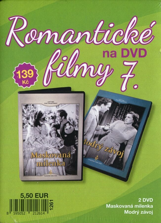 Romantické filmy na DVD 7 - kolekce (2 DVD) - digipack