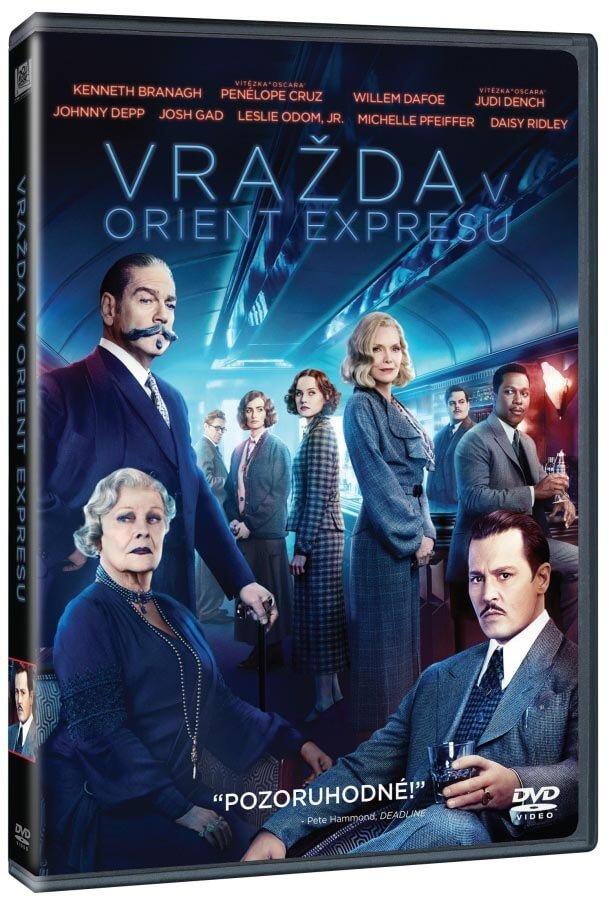Vražda v Orient expresu (2017) (DVD)