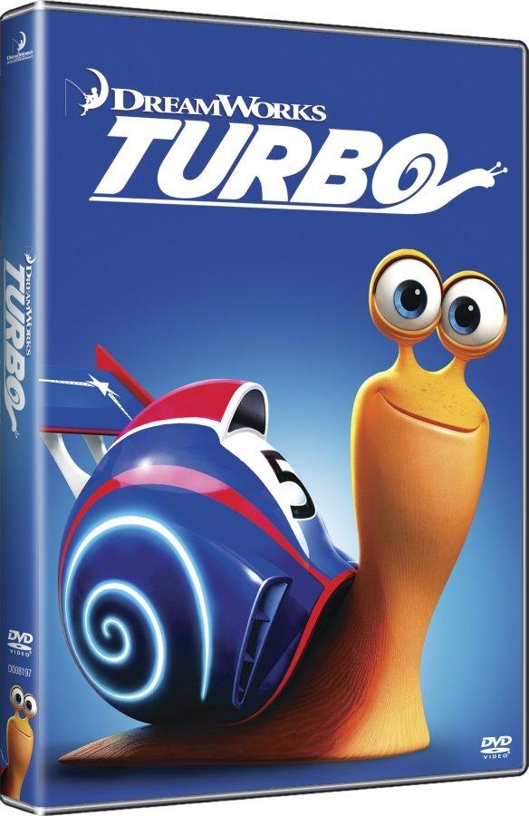 Turbo (DVD) - edice BIG FACE