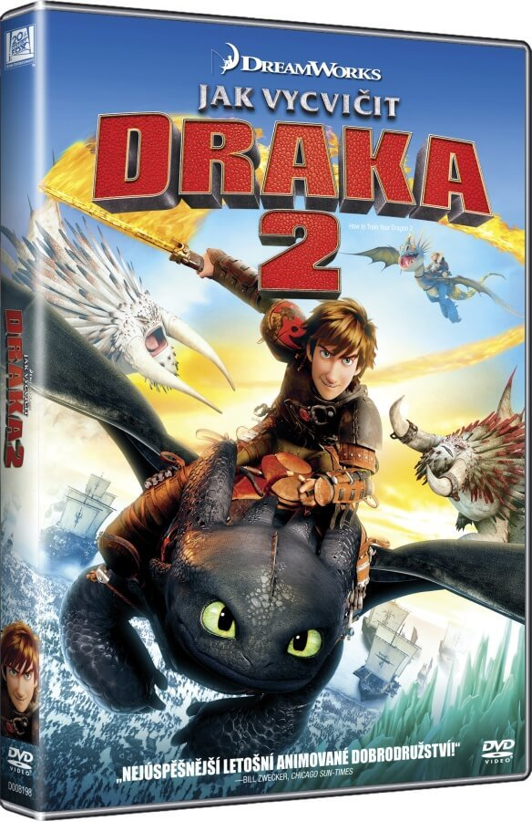 Jak vycvičit draka 2 (DVD) - edice BIG FACE