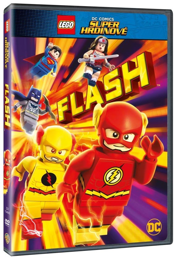 Lego DC Super hrdinové: Flash (DVD)