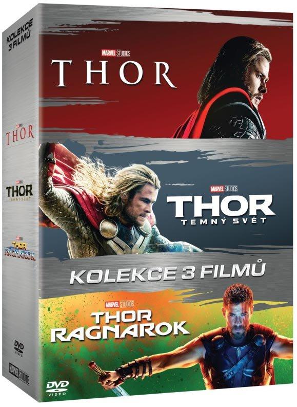 Thor kolekce (1-3) (3 DVD)