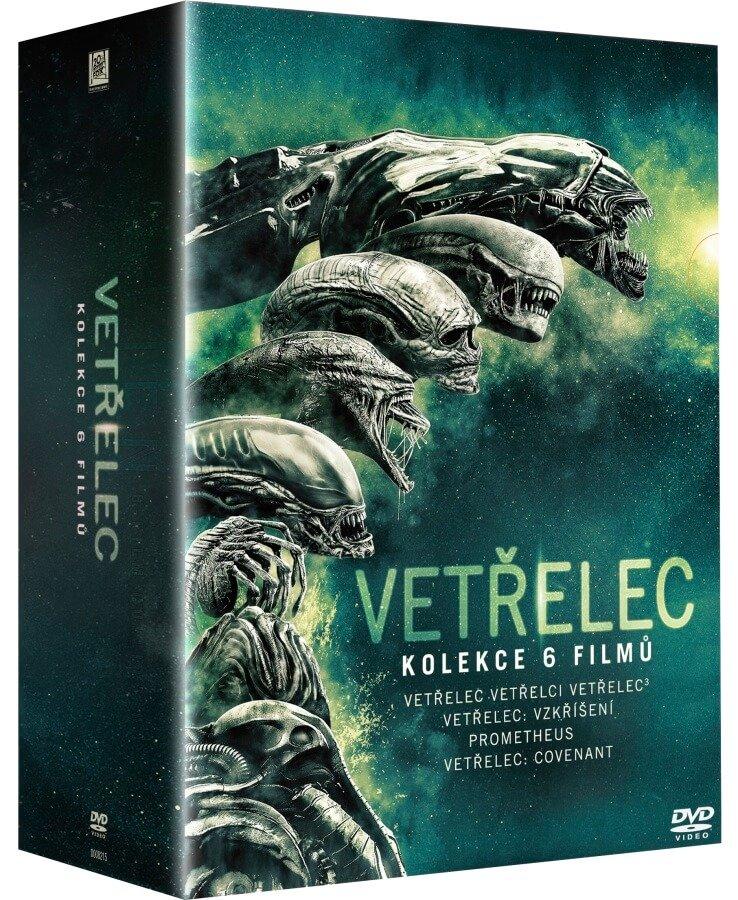 Vetřelec kompletní kolekce (6 DVD)