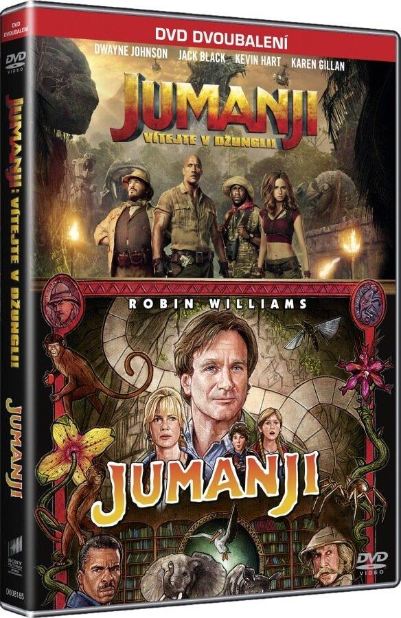 Jumanji 1-2 kolekce (2 DVD)
