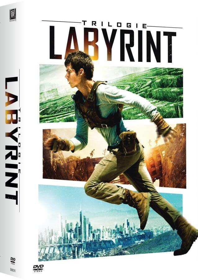 Labyrint: Trilogie kolekce (3 DVD)