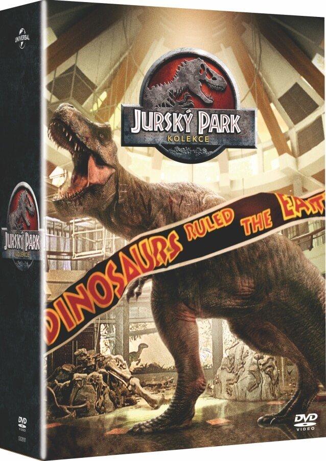 Jurský park kolekce 1-4 (4 DVD)