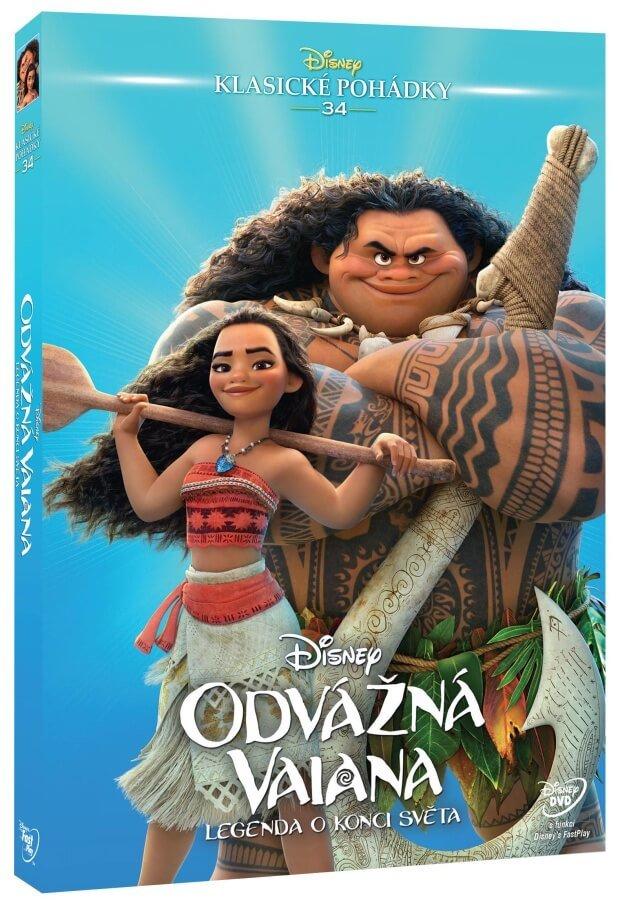 Odvážná Vaiana: Legenda o konci světa (DVD) - Edice Disney klasické pohádky