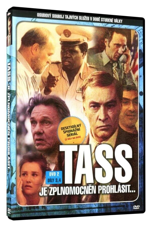 TASS je zplnomocněn prohlásit 3.-4. díl (DVD)