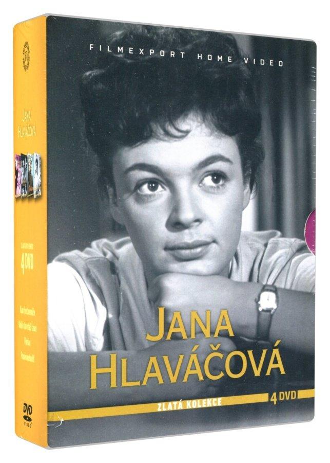 Jana Hlaváčová - kolekce (4 DVD)