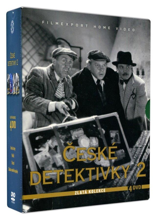 České detektivky 2 - kolekce (4 DVD)