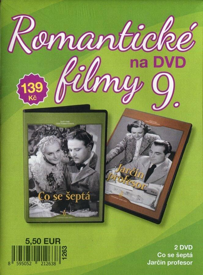 Romantické filmy na DVD 9 - kolekce (2 DVD) - digipack
