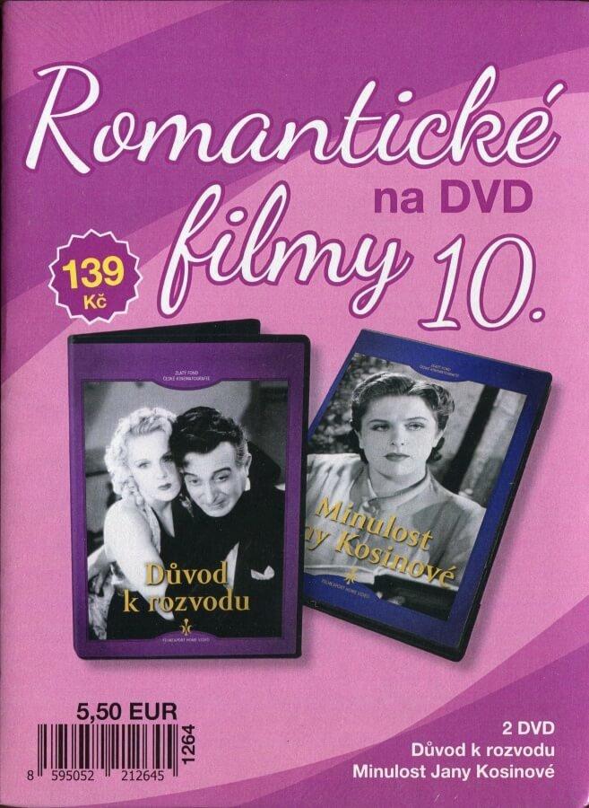 Romantické filmy na DVD 10 - kolekce (2 DVD) - digipack