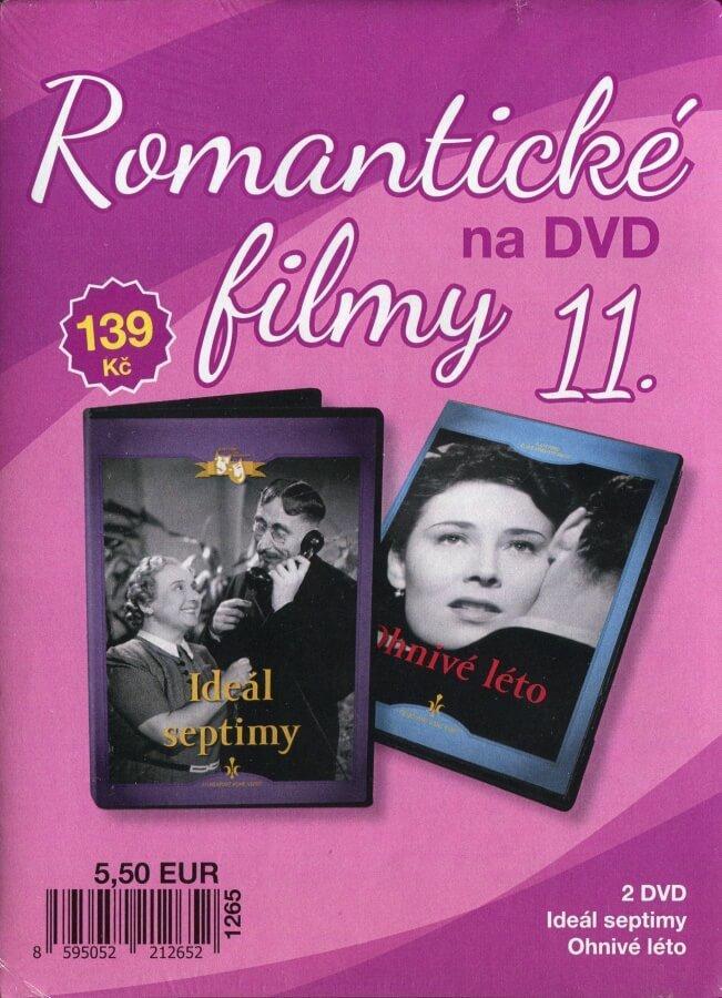 Romantické filmy na DVD 11 - kolekce (2 DVD) - digipack