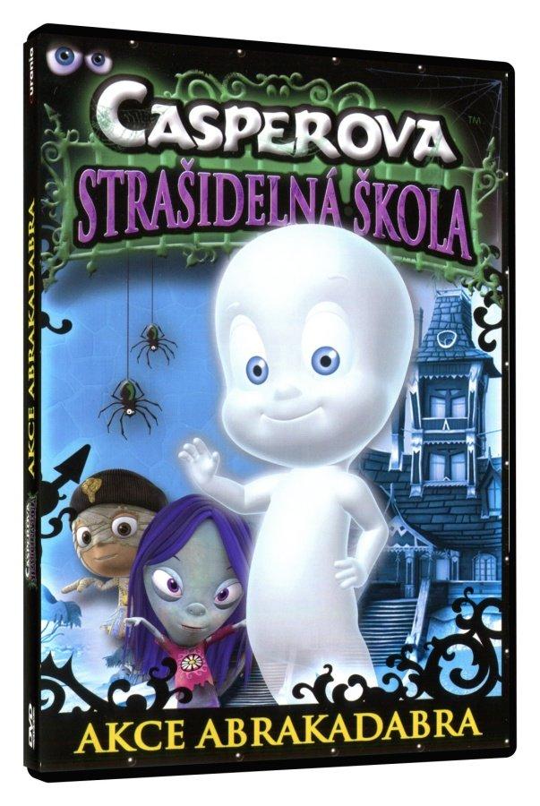 Casperova strašidelná škola - Akce Abrakadabra (DVD)