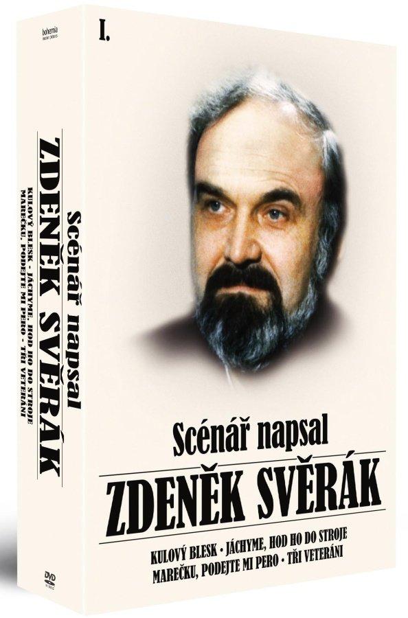 Kolekce Scénář napsal Zdeněk Svěrák (4 DVD) - remasterovaná verze