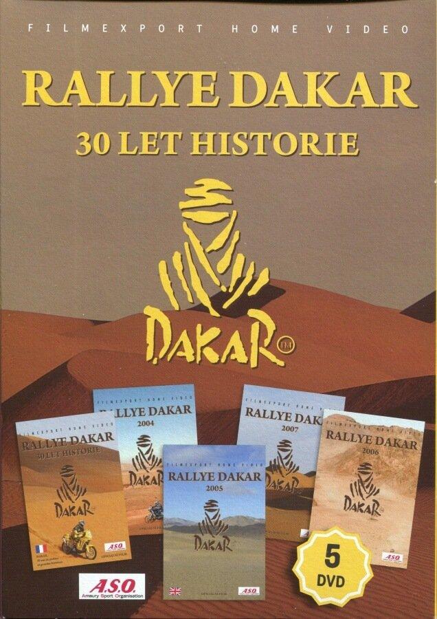 Rallye Dakar: 30 let historie kolekce (5 DVD) (papírový obal)