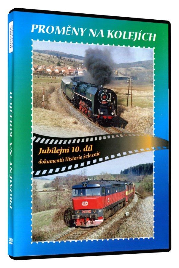 Historie železnic: PROMĚNY NA KOLEJÍCH (DVD)