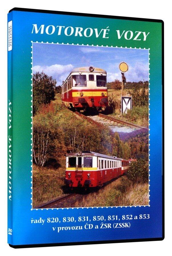Historie železnic: MOTOROVÉ VOZY (DVD)