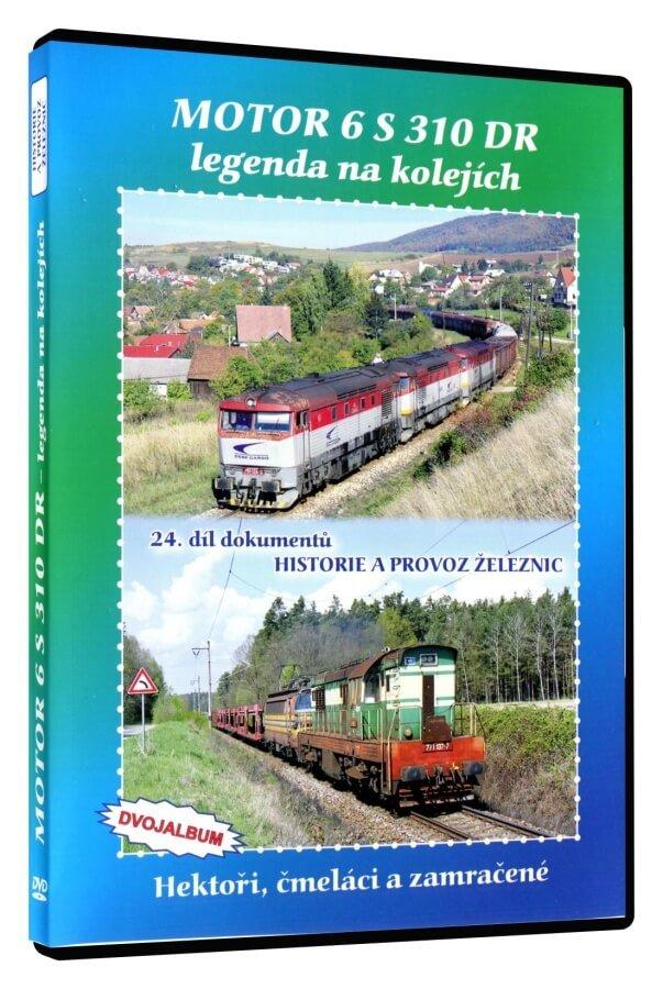 Historie železnic: MOTOR 6 S 310 DR - legenda na kolejích (2 DVD)