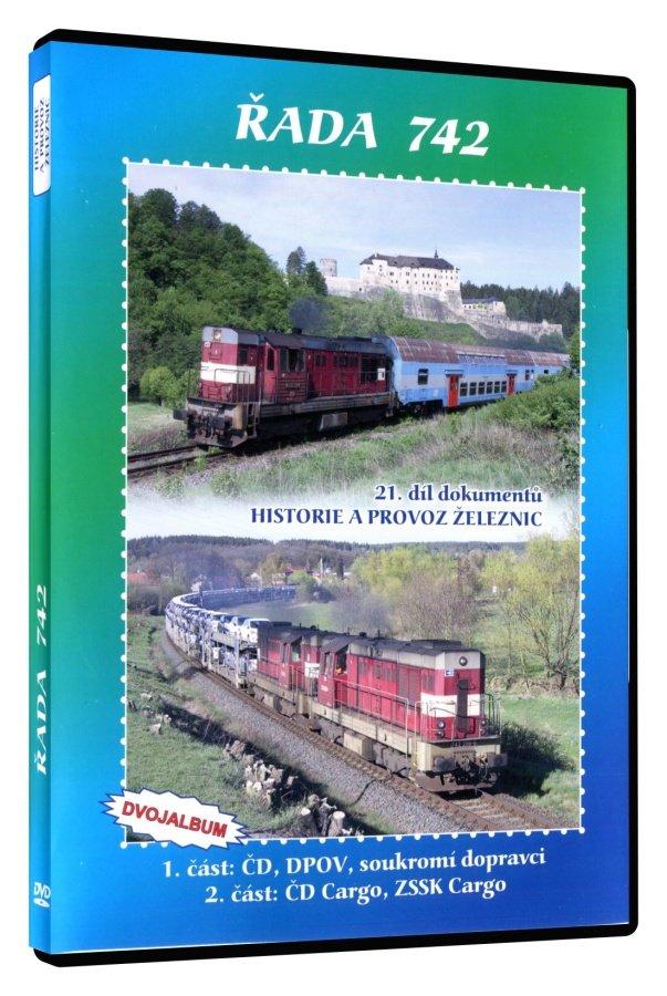 Historie železnic: ŘADA 742 (2 DVD)