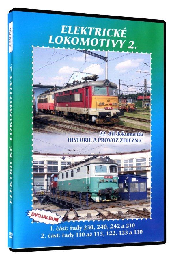 Historie železnic: ELEKTRICKÉ LOKOMOTIVY 2 (2 DVD)