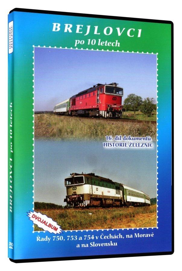Historie železnic: BREJLOVCI PO 10 LETECH (2 DVD)