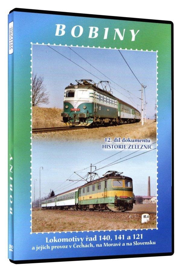 Historie železnic: BOBINY (DVD)