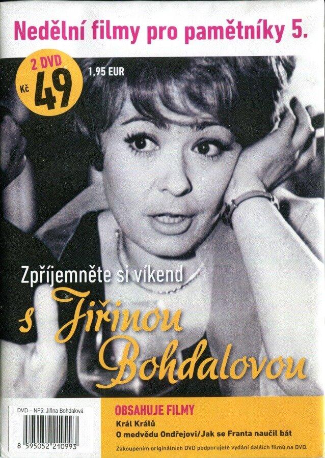 Nedělní filmy pro pamětníky 5: Jiřina Bohdalová (2 DVD) (papírový obal)