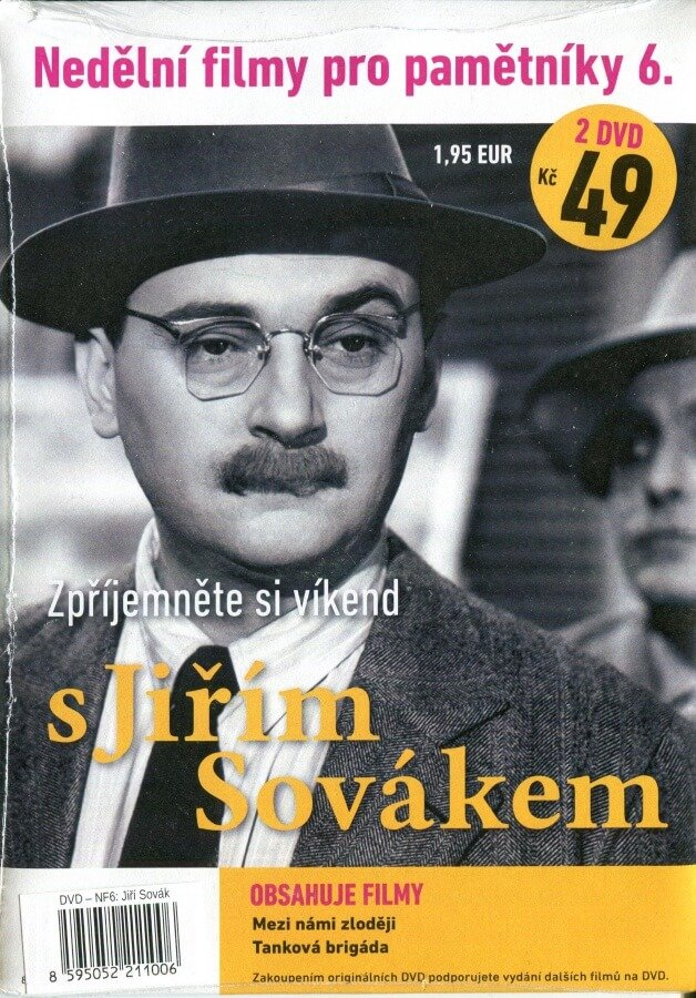 Nedělní filmy pro pamětníky 6: Jiří Sovák (2 DVD) (papírový obal)