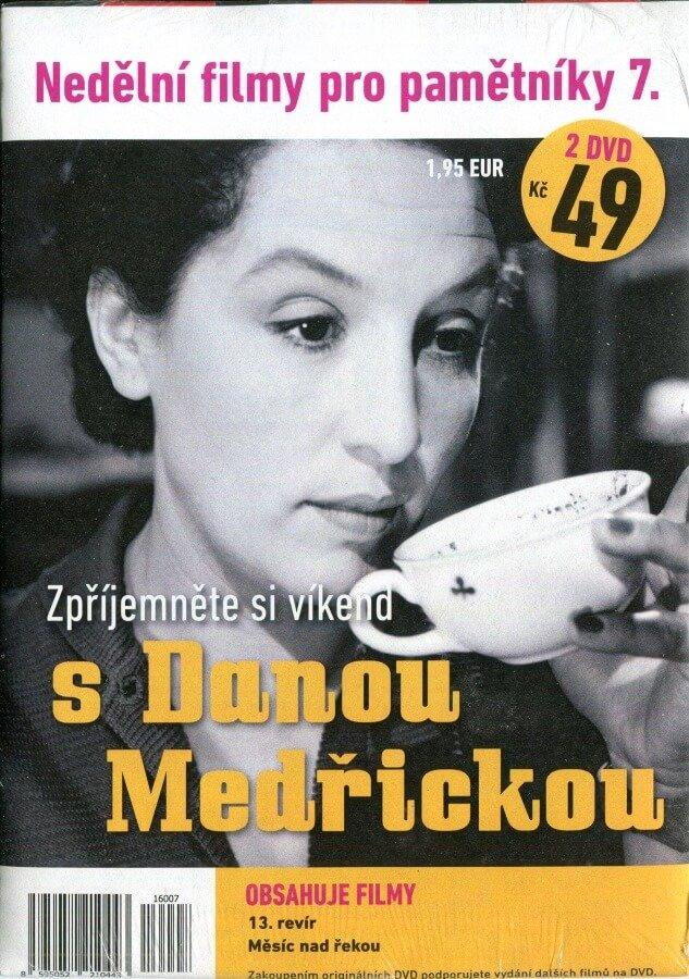 Nedělní filmy pro pamětníky 7: Dana Medřická (2 DVD) (papírový obal)