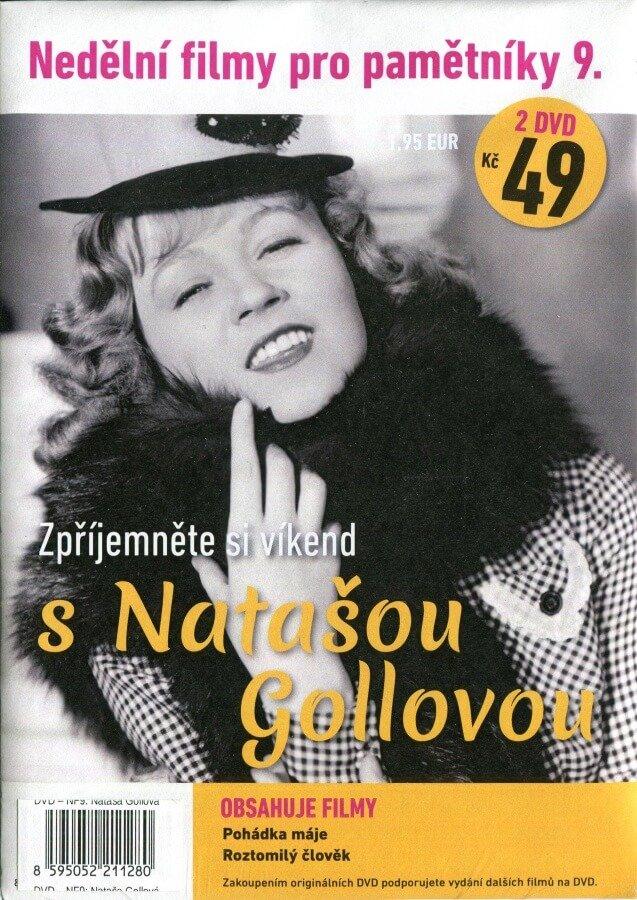 Nedělní filmy pro pamětníky 9: Nataša Gollová (2 DVD) (papírový obal)