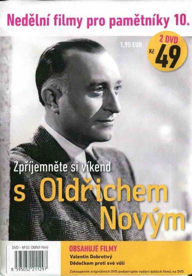Nedělní filmy pro pamětníky 10: Oldřich Nový (2 DVD) (papírový obal)
