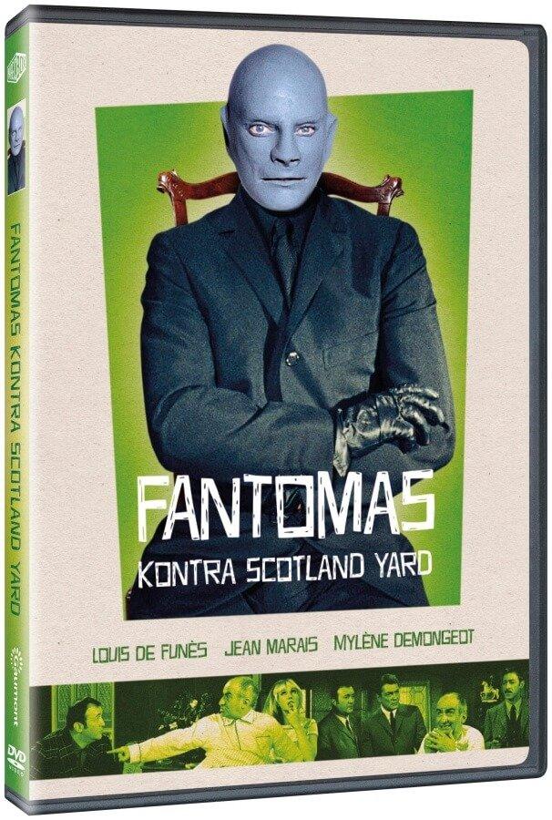 Fantomas kontra Scotland Yard (DVD)