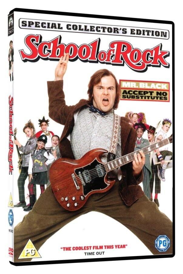 Škola rocku (DVD) - DOVOZ