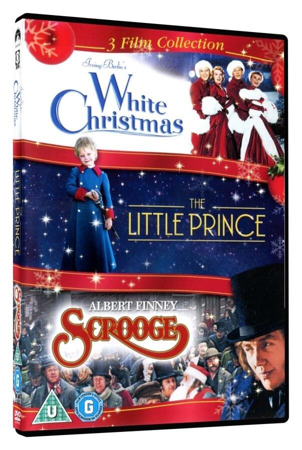 Vánoční filmy kolekce (Bílé Vánoce, Malý princ, Scrooge) (3 DVD) - DOVOZ