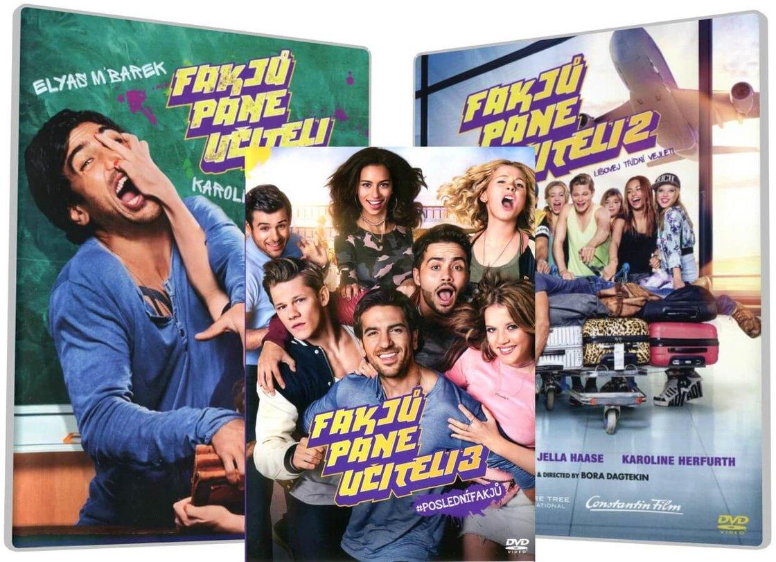 Fakjů pane učiteli 1-3 kolekce (3 DVD)