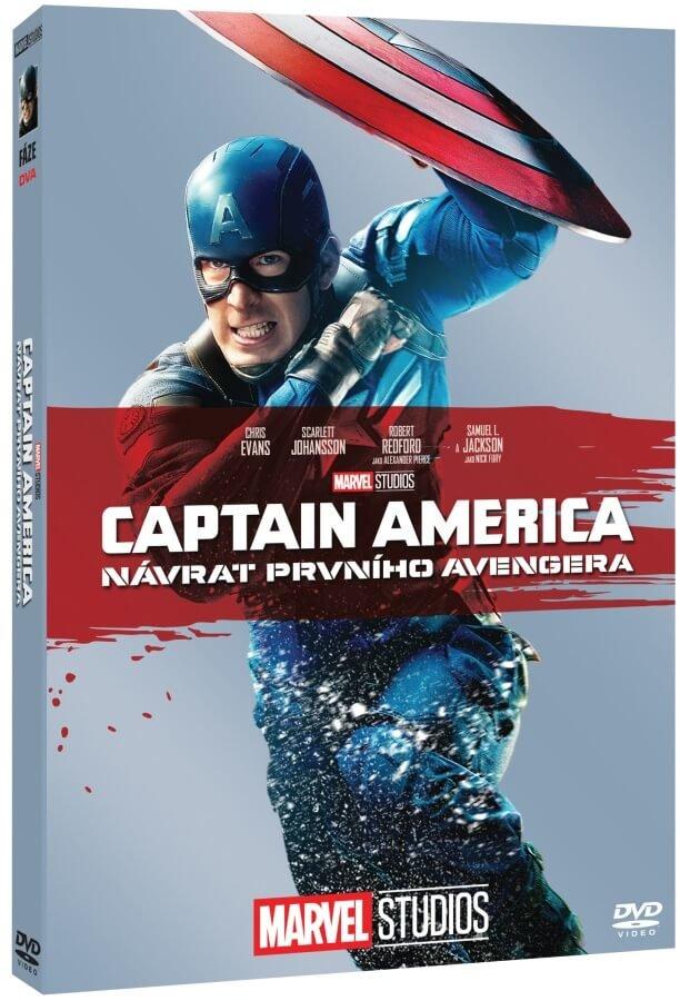 Captain America: Návrat prvního Avengera (DVD) - edice MARVEL 10 let