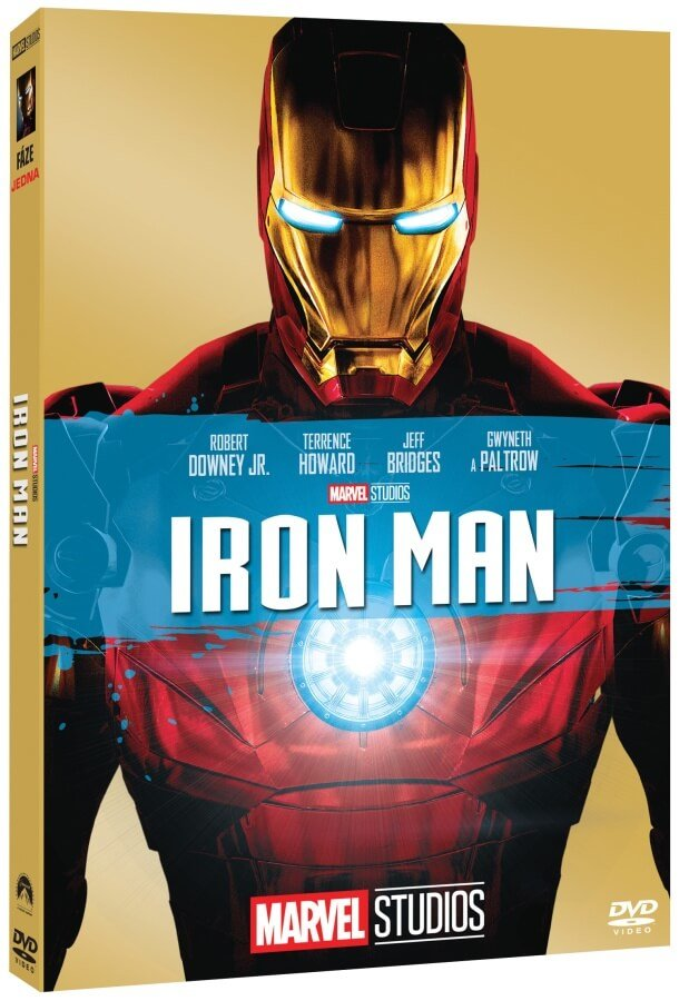 Iron man (DVD) - edice MARVEL 10 let