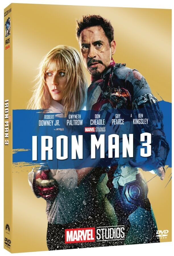 Iron Man 3 (DVD) - edice MARVEL 10 let
