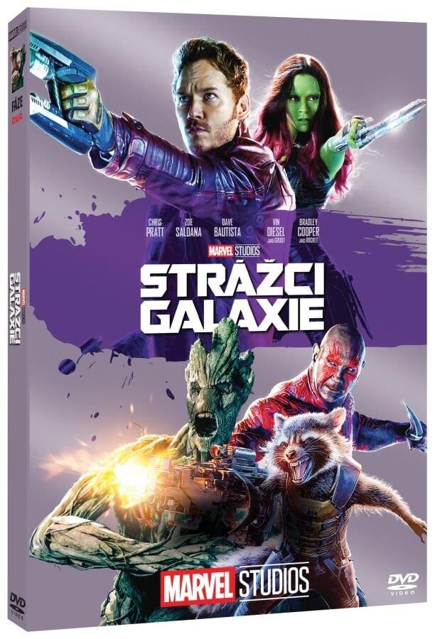 Strážci Galaxie (DVD) - edice MARVEL 10 let